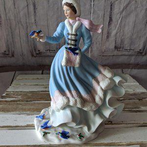 Lenox Noelle 1998 Christmas princess porcelain lim
